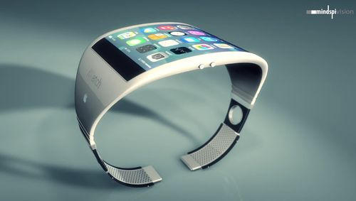 超大屏苹果iWatch概念设计 为健康而生