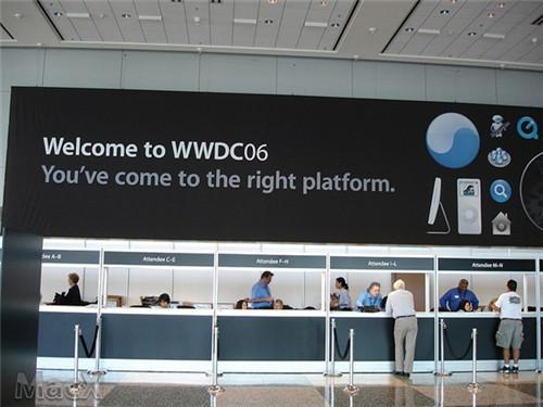 "WWDC宣传标语 ""编写代码.改变世界!"""