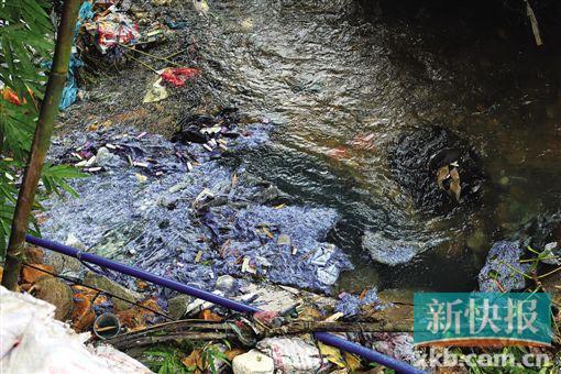 广东一工厂偷排污染物被抓现行 负责人仍不认账