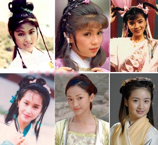 翁美玲刘亦菲黎姿 金庸剧中八大绝色美女