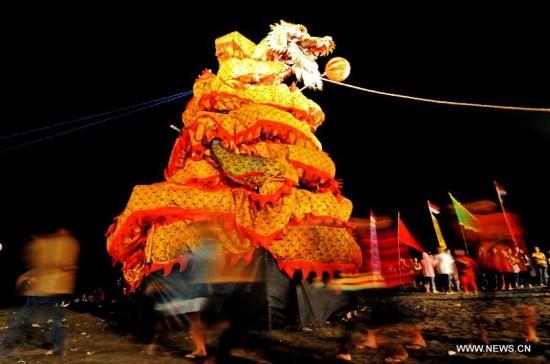 INDONESIA-YOGYAKARTA-DRAGON BOAT FESTIVAL