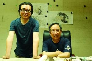 南艺画家父子互相欣赏 曾有两年不说话