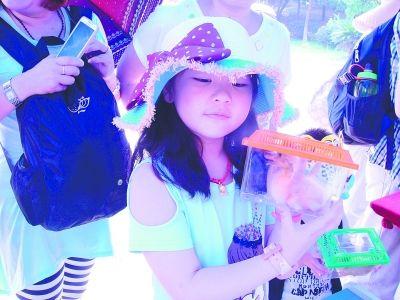 孩子游九峰动物园 可领养小黄鸭