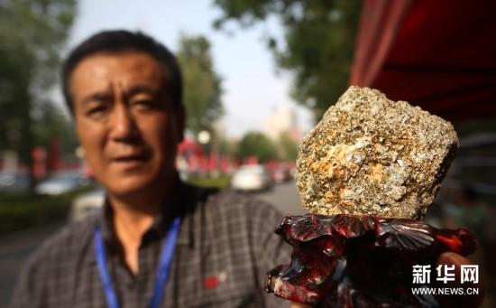 (晚报)(2)特色石头亮相中国(沈阳)古玩艺术品博览会