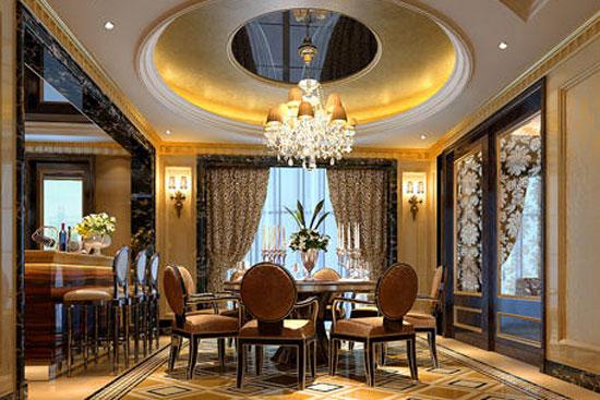 教您打造欧式风格餐厅设计