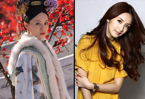 刘诗诗刘亦菲赵薇林心如 娱乐圈同龄明星谁更美 图