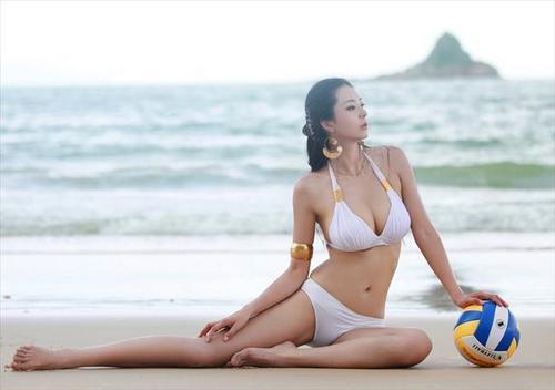 中国第一黄金比例美女曝照 怎么算的?