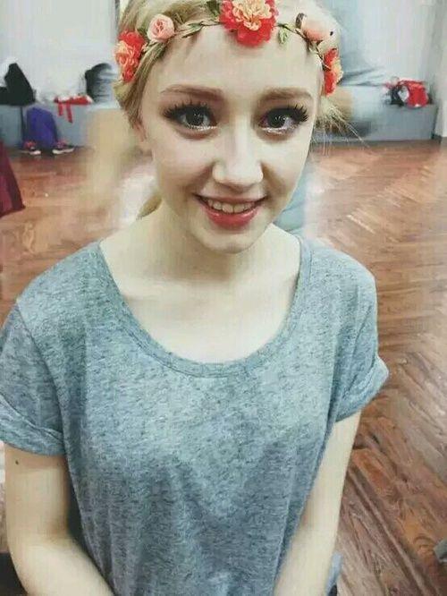 丹麦芭蕾舞美女仙气十足 来华上节目意外走红