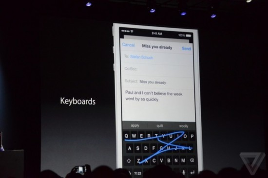 小而精升级的大集合 苹果iOS8系统发布