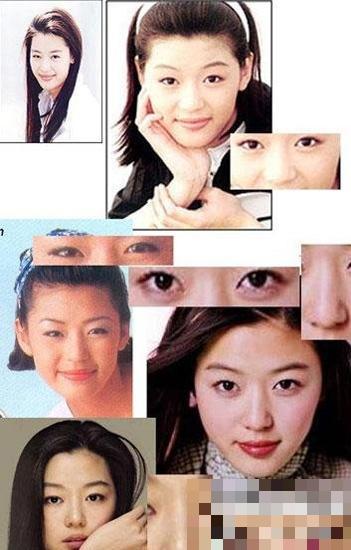 中韩收视女王容貌变迁 俞飞鸿绝色不改 全智贤梅婷变脸 图