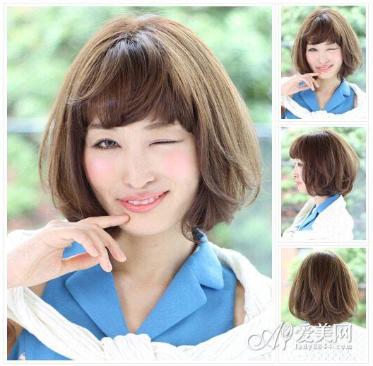 短发发型图片2014女 甜美灵动最in【10】
