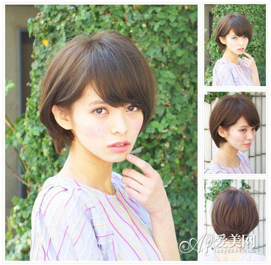 短发发型图片2014女 甜美灵动最in【15】