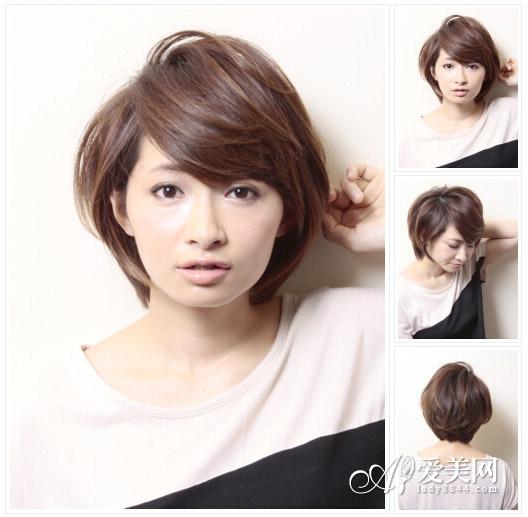 短发发型图片2014女 甜美灵动最in【7】