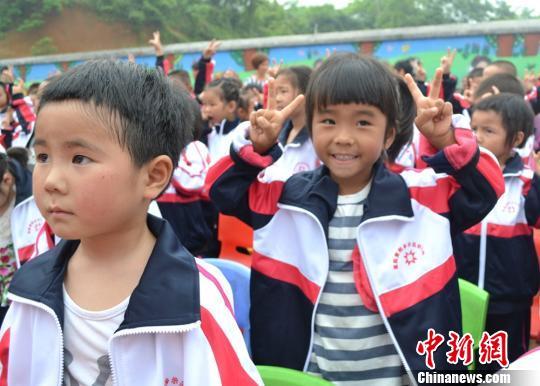 """港商湖南""""无妈乡""""捐建农村留守儿童幼儿园"""