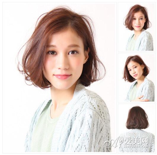 波波头短发发型图片 摩登气质最夯【11】