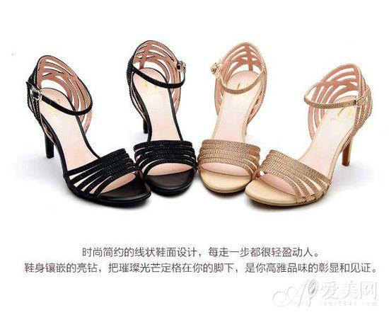 phne达芙妮女鞋圆漾系列2014夏装新款图片-高圆圆联袂达芙妮 首推图片