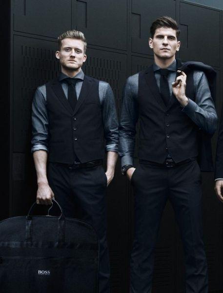 德国队世界杯正装出炉 标配男模迷翻网友
