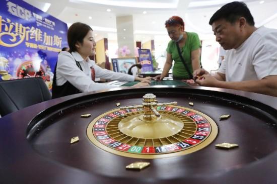 河南一售楼处促销改赌场 称体验博彩文化(组图)【2】