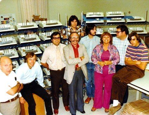 泛黄老照片:苹果首个真正意义上的办公室