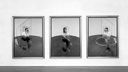 现身纽约佳士得拍卖会的弗朗西斯・培根三联画《约翰・爱德华兹肖像三习作》,最终以8080.5万美元的成交价被中国藏家竞得。