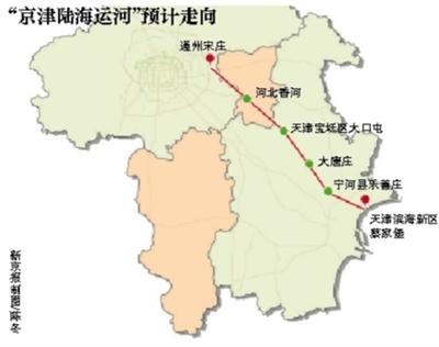 北京蓝皮书建议凿京津陆海运河称可改善京津空气