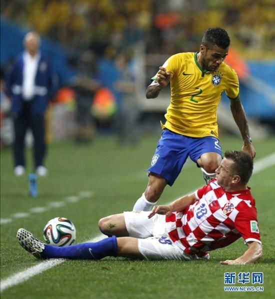 2014年6月12日 (世界杯)(17)足球——揭幕战:巴西对阵克罗地图片