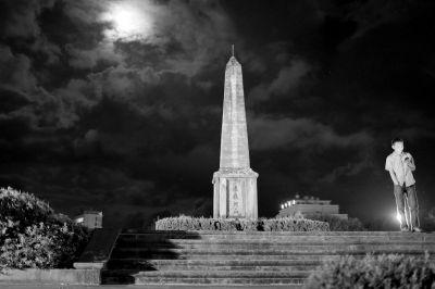 远征军阵亡将士纪念塔。