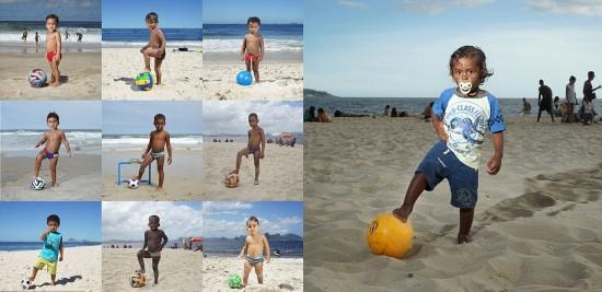 世界杯前抓拍的巴西人精彩生活