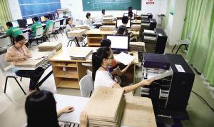 海南700多位老师今起为36万余份高考考卷评分