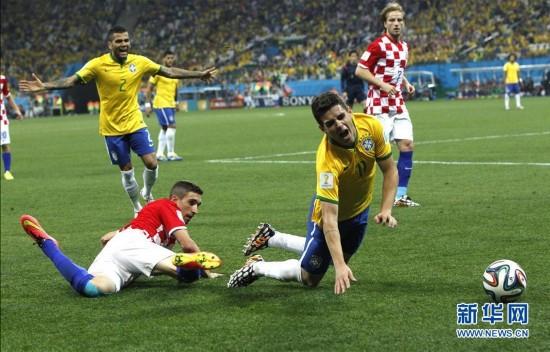 2014年6月12日 (世界杯)(26)足球——揭幕战:巴西对阵克罗地图片