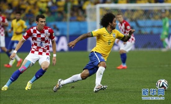 2014年6月12日 (世界杯)(12)足球——揭幕战:巴西对阵克罗地图片