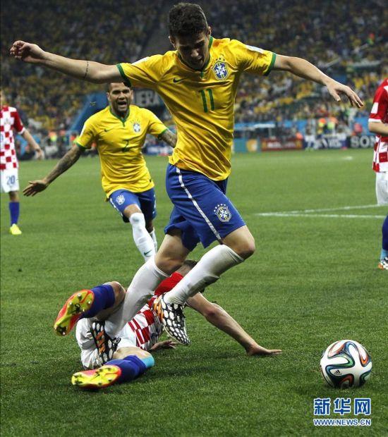 2014年6月12日 (世界杯)(27)足球——揭幕战:巴西对阵克罗地图片