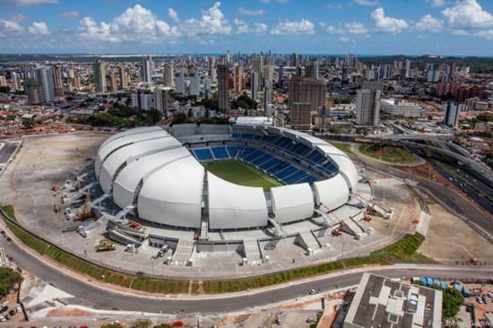 巴西世界杯12大场馆排行榜