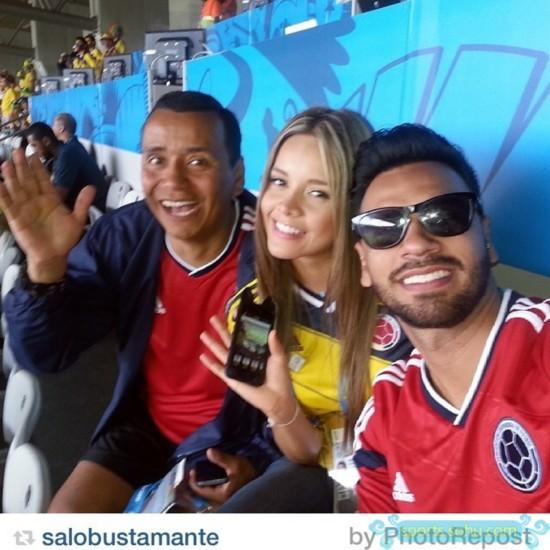 哥伦比亚记者美女走红太太不输世界杯性感团v记者咳嗽病毒性白细胞偏幼儿低图片