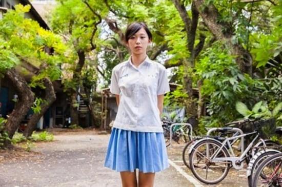 盘点台湾最美高中女生校服