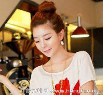 怎么梳可爱包包头 简单包包头发型扎法图片