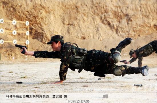 中国陆军31军女子特种兵曝光 掌握20余种特战技能