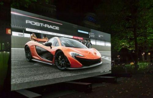 世界最大电视长9米重1吨 可同时看20个频道(图)