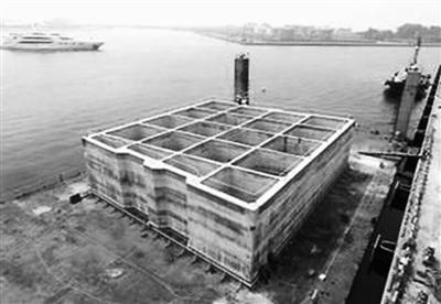 台湾动工扩建太平岛码头 建成后可泊2000吨舰艇