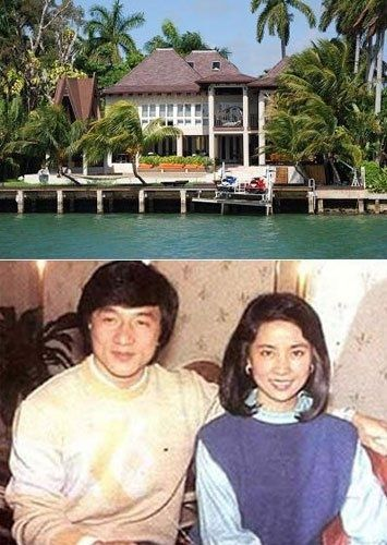 最有钱明星夫妻大比拼:成龙房产遍布全球