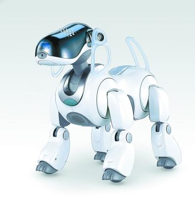 """索尼公司铰出产的第叁代电儿子宠物狗""""AIBO"""",曾经招伸了群多的成材和孩儿子。"""