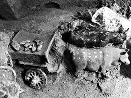 山西大同发现一处北魏石椁墓随葬品做工考究(图)