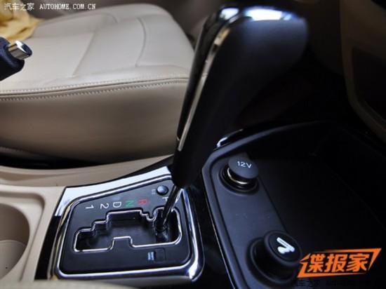 下半年上市 五菱宏光S自动挡谍照曝光高清图片
