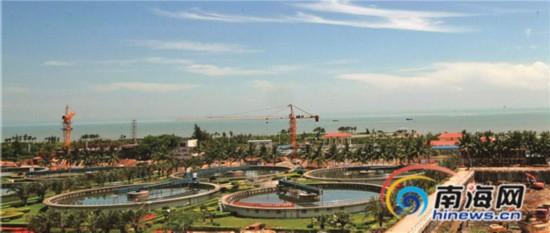 白沙门污水处理厂10月完成升级改造