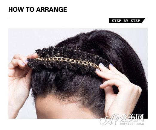 露额头发型扎法 简单步骤甜美爆表