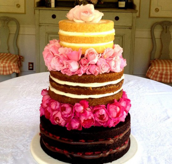 欧美裸蛋糕呈现食材尽显原始诱惑【7】
