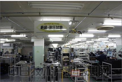 工厂电路走线实际图