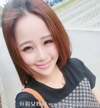 中分刘海时尚设计 好看中分刘海发型图片【6】图片