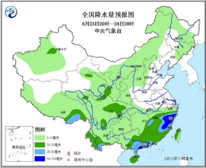 强降雨将转战江汉江淮等地浙闽粤局地雨势仍较强