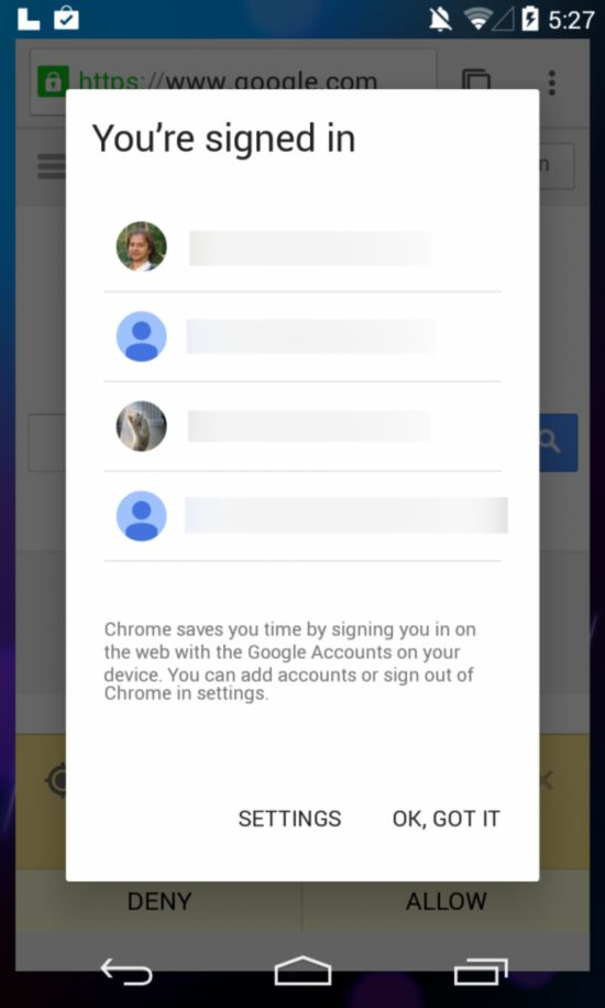 谷歌意外泄露 Android 5.0系统截图曝光